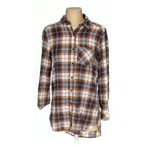 BP Button-up Shirt in size XS at up to 95% Off - Swap.com