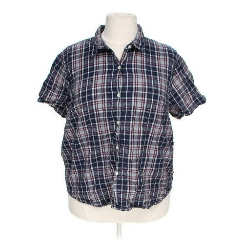 Cabin Creek Button-up Shirt in size 22 at up to 95% Off - Swap.com