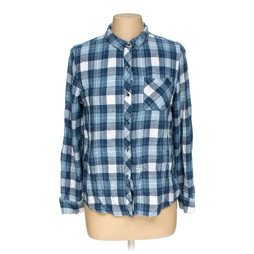 Calvin Klein Button-up Shirt in size M at up to 95% Off - Swap.com