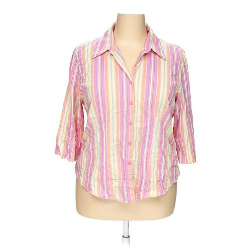 Carolina Colours Button-up Shirt in size 18 at up to 95% Off - Swap.com