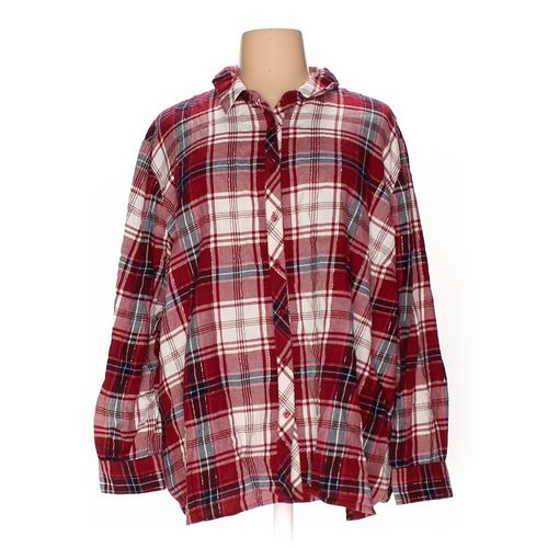 Catherines Button-up Shirt in size 26 at up to 95% Off - Swap.com