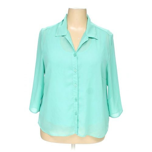 Cato Button-up Shirt in size 18 at up to 95% Off - Swap.com