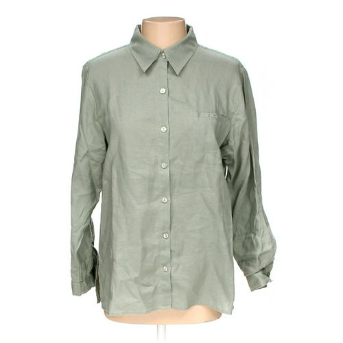 Chadwicks Button-up Shirt in size 12 at up to 95% Off - Swap.com