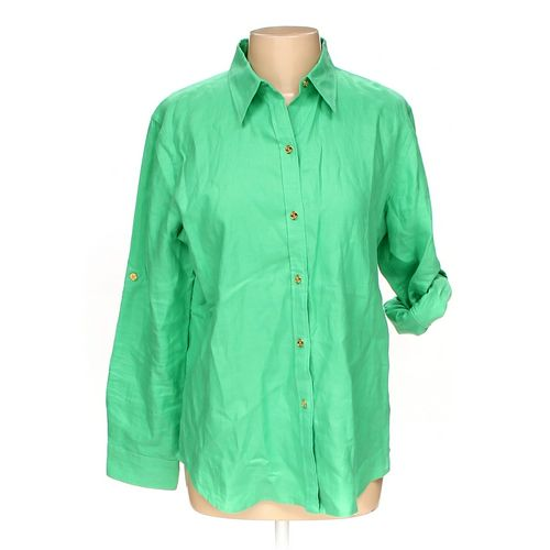 Chaps Button-up Shirt in size L at up to 95% Off - Swap.com
