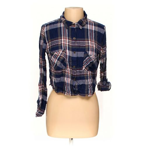 Charlotte Russe Button-up Shirt in size L at up to 95% Off - Swap.com