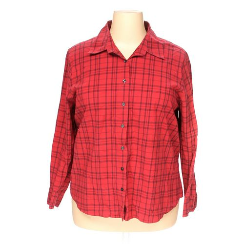 Charter Club Button-up Shirt in size 18 at up to 95% Off - Swap.com