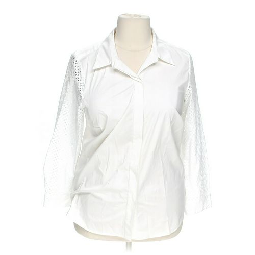 Charter Club Button-up Shirt in size 1X at up to 95% Off - Swap.com