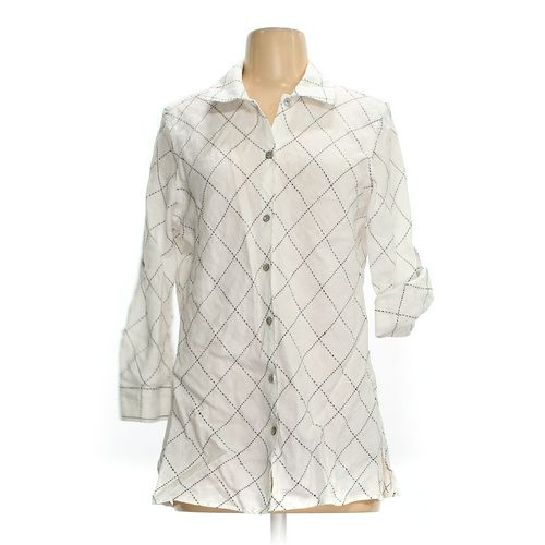 Charter Club Button-up Shirt in size 8 at up to 95% Off - Swap.com