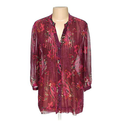 Charter Club Button-up Shirt in size L at up to 95% Off - Swap.com