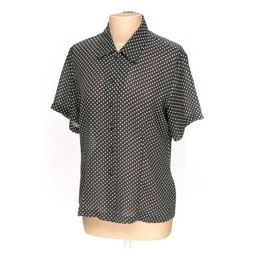 CHAUS Button-up Shirt in size 10 at up to 95% Off - Swap.com