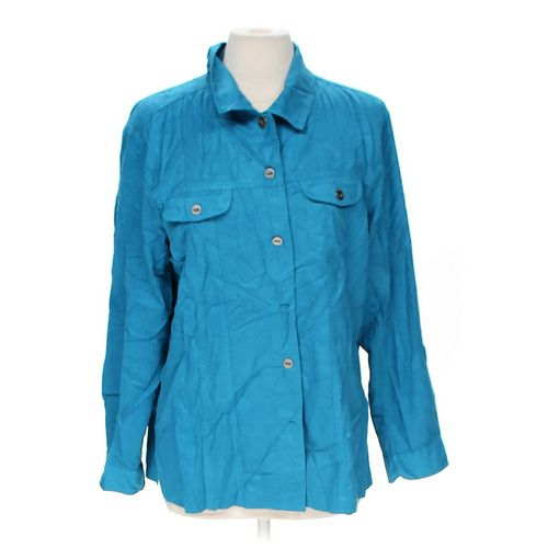 Chico's Button-up Shirt in size 12 at up to 95% Off - Swap.com