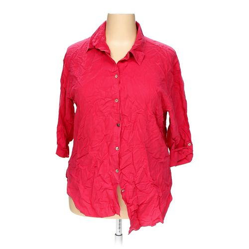 Chico's Button-up Shirt in size 16 at up to 95% Off - Swap.com