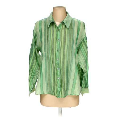 Chico's Button-up Shirt in size 2 at up to 95% Off - Swap.com