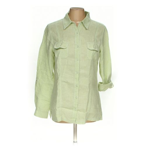Chico's Button-up Shirt in size 8 at up to 95% Off - Swap.com