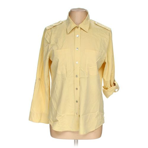 Chico's Button-up Shirt in size M at up to 95% Off - Swap.com