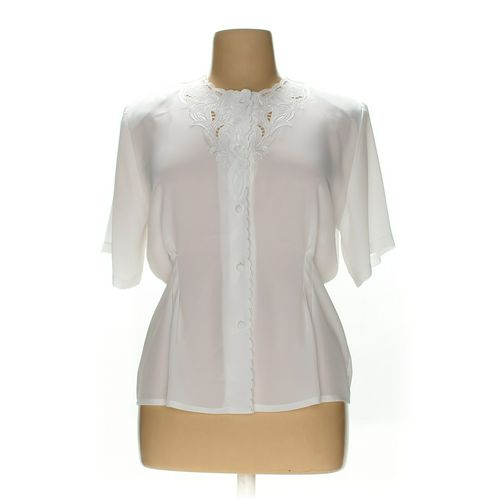 Christine & Jill Button-up Shirt in size 16 at up to 95% Off - Swap.com