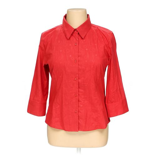 Christopher & Banks Button-up Shirt in size XL at up to 95% Off - Swap.com