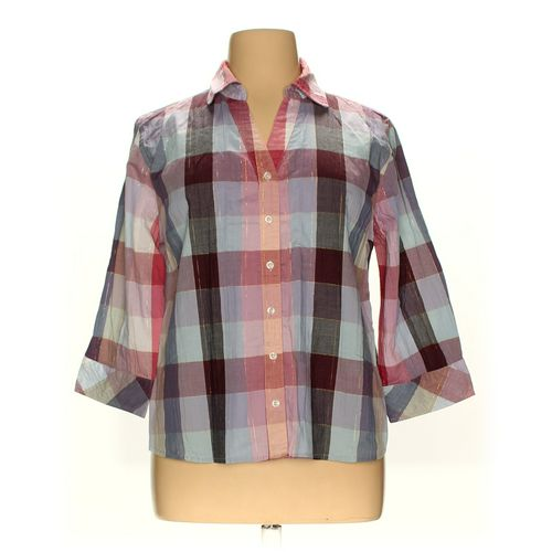 Christopher Blue Button-up Shirt in size XL at up to 95% Off - Swap.com