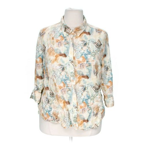 CJ Banks Button-up Shirt in size XS at up to 95% Off - Swap.com
