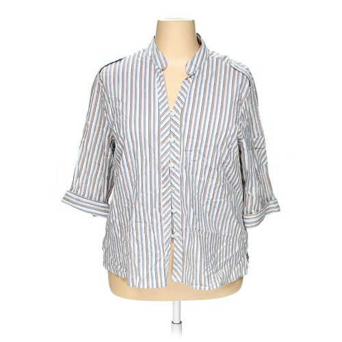 Club Z Collection Button-up Shirt in size 2X at up to 95% Off - Swap.com