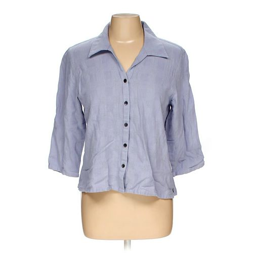 Coldwater Creek Button-up Shirt in size M at up to 95% Off - Swap.com