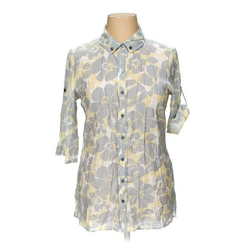 Coldwater Creek Button-up Shirt in size 14 at up to 95% Off - Swap.com