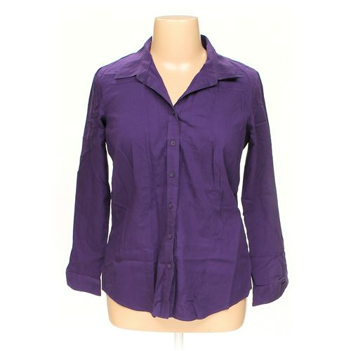 Coldwater Creek Button-up Shirt in size 16 at up to 95% Off - Swap.com