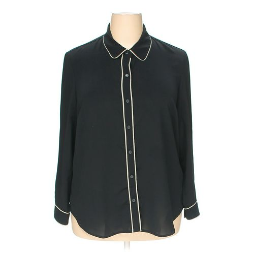 Coldwater Creek Button-up Shirt in size 18 at up to 95% Off - Swap.com