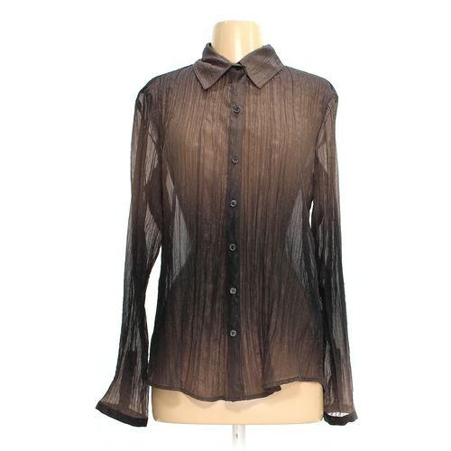 Coldwater Creek Button-up Shirt in size 10 at up to 95% Off - Swap.com