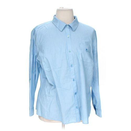 Covington Button-up Shirt in size 20 at up to 95% Off - Swap.com