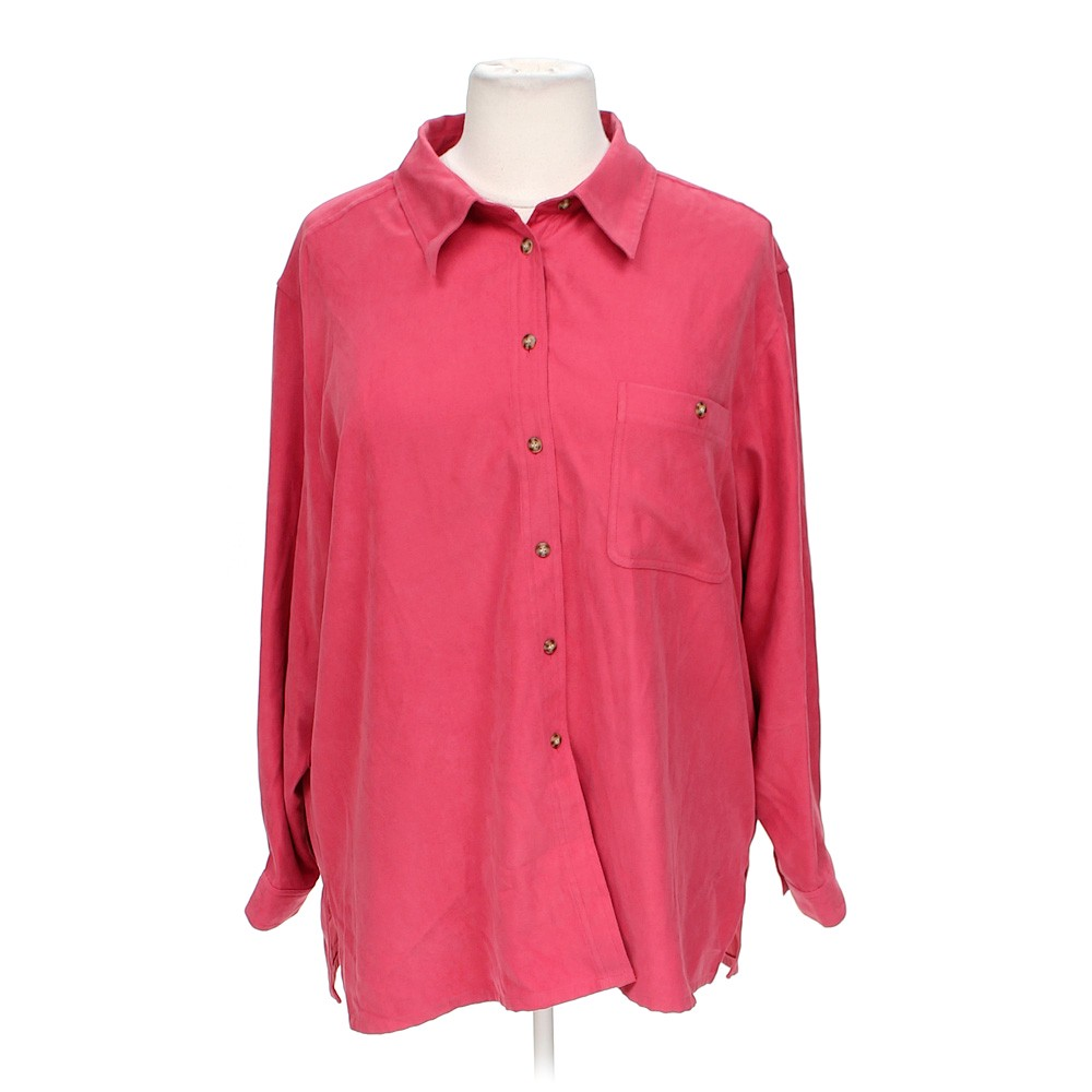 Crazy horse button up shirt online consignment for Polyester button up shirt
