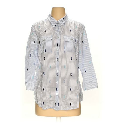 Croft & Barrow Button-up Shirt in size M at up to 95% Off - Swap.com