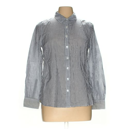 Crown & Ivy Button-up Shirt in size M at up to 95% Off - Swap.com