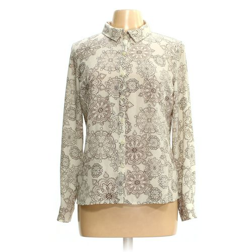 Dana Buchman Button-up Shirt in size M at up to 95% Off - Swap.com