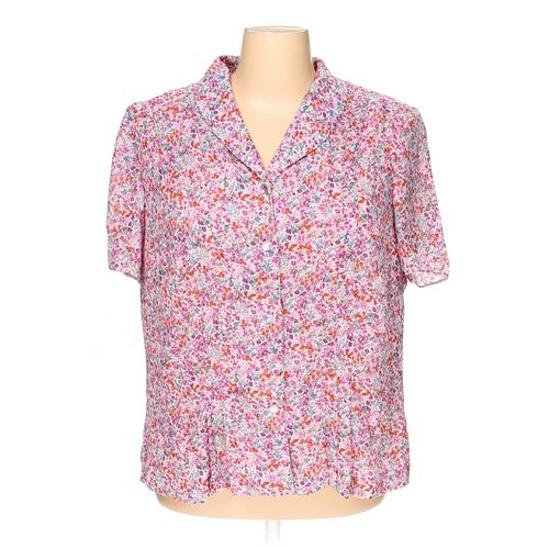Danny & Nicole Button-up Shirt in size 24 at up to 95% Off - Swap.com