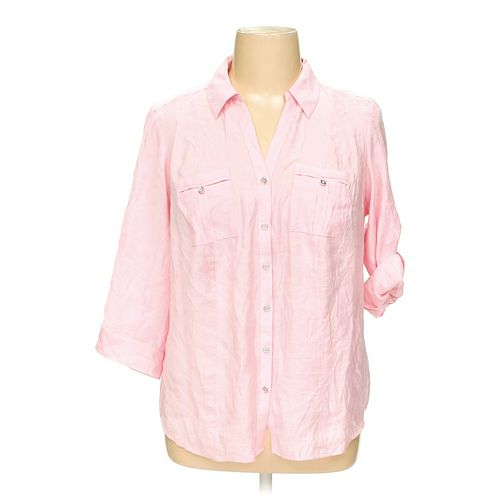 DB Button-up Shirt in size 1X at up to 95% Off - Swap.com