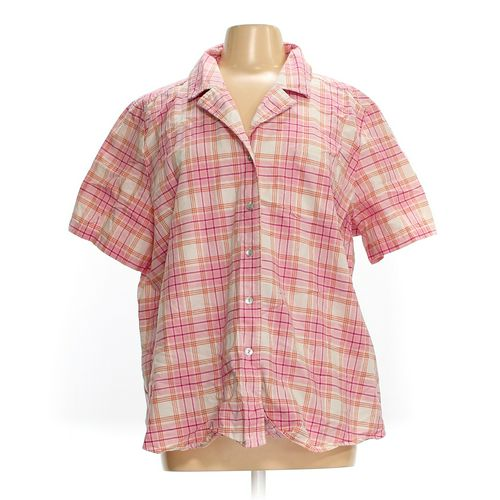 Denim & Co. Button-up Shirt in size 2X at up to 95% Off - Swap.com