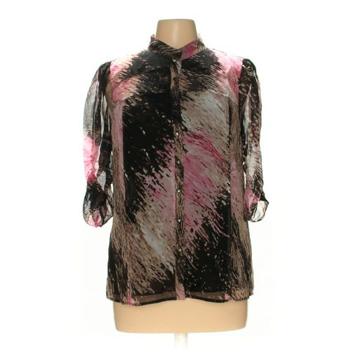 Diane von Furstenberg Button-up Shirt in size 12 at up to 95% Off - Swap.com