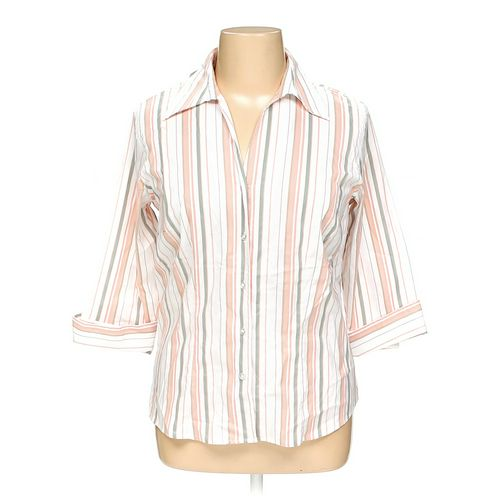dressbarn Button-up Shirt in size 14 at up to 95% Off - Swap.com