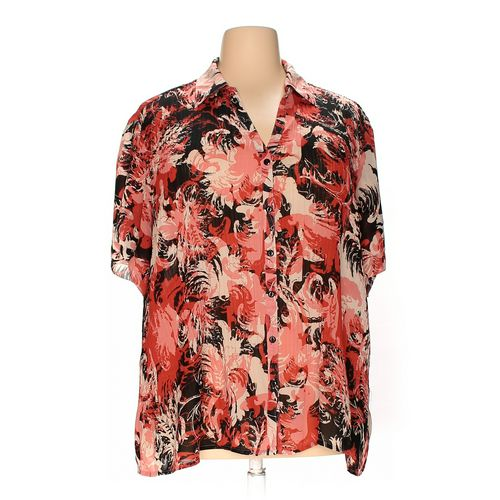 dressbarn Button-up Shirt in size 22 at up to 95% Off - Swap.com