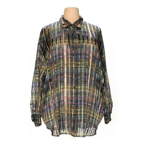 dressbarn Button-up Shirt in size 3X at up to 95% Off - Swap.com