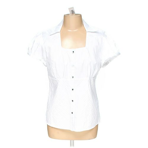 dressbarn Button-up Shirt in size L at up to 95% Off - Swap.com