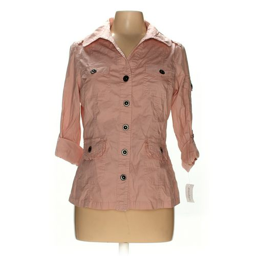 dressbarn Button-up Shirt in size M at up to 95% Off - Swap.com