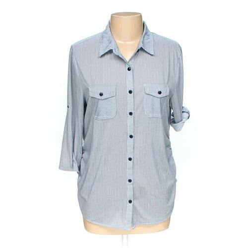 Eden & Olivia Button-up Shirt in size L at up to 95% Off - Swap.com