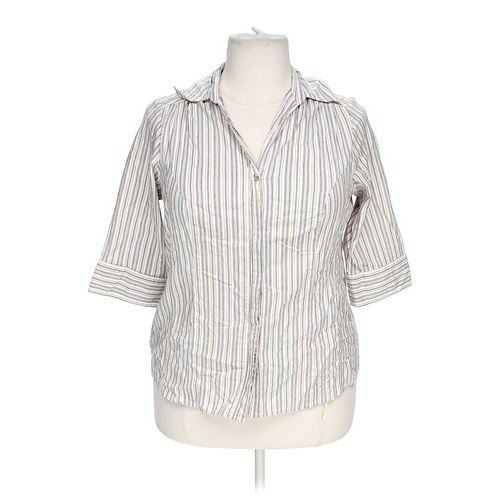 Elementz Button-up Shirt in size L at up to 95% Off - Swap.com