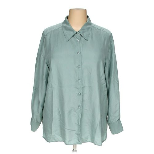 Elisabeth by Liz Claiborne Button-up Shirt in size 22 at up to 95% Off - Swap.com