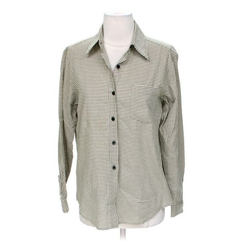 Evan Picone Button-up Shirt in size 4 at up to 95% Off - Swap.com