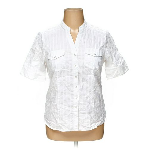 Faded Glory Button-up Shirt in size 16 at up to 95% Off - Swap.com
