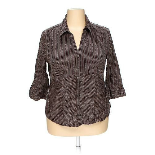 Faded Glory Button-up Shirt in size 18 at up to 95% Off - Swap.com