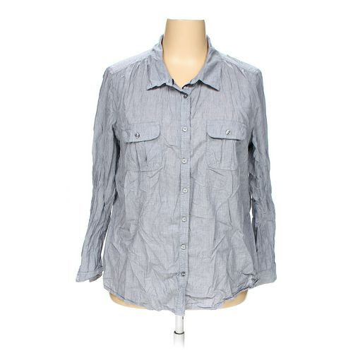 Faded Glory Button-up Shirt in size 3X at up to 95% Off - Swap.com